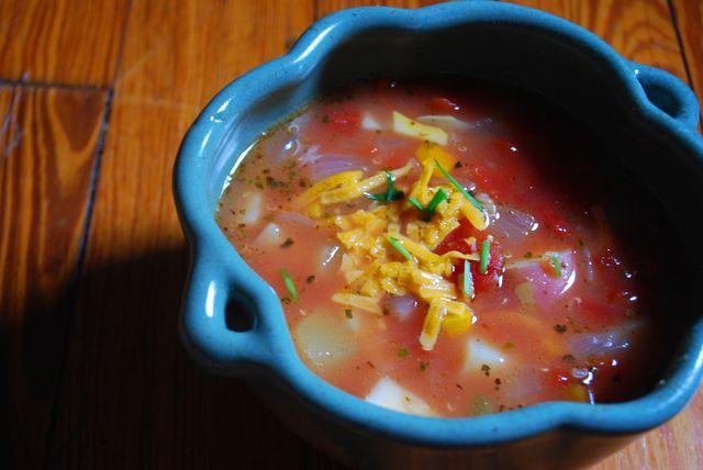 Quinoa-vegetable stew