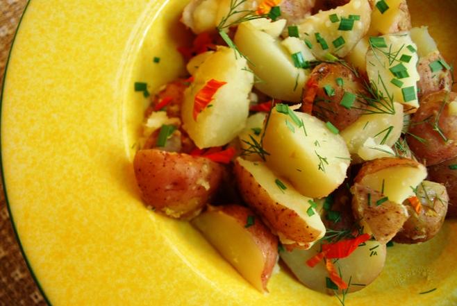 Warm potato salad 1 sm