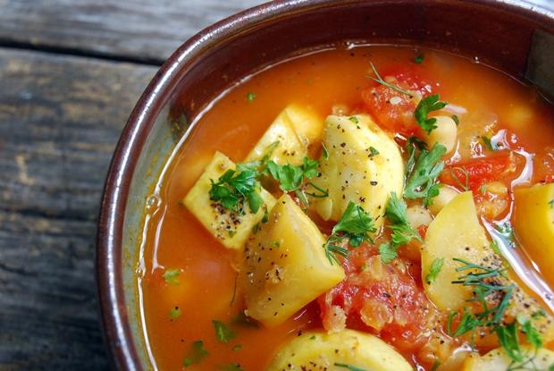 Summer squash stew sm