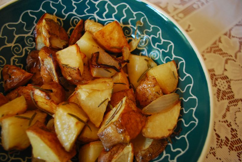 Potatoes cooked sm
