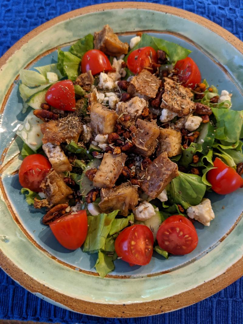 October salad